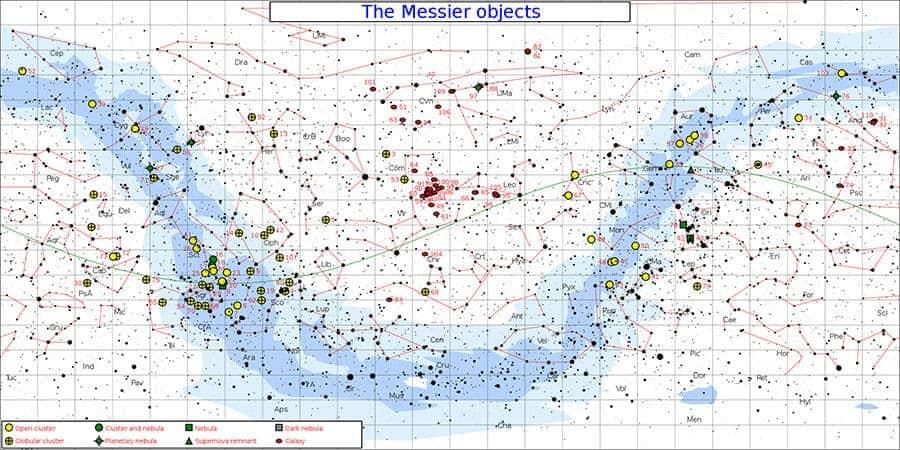 Messiere Catalogue list