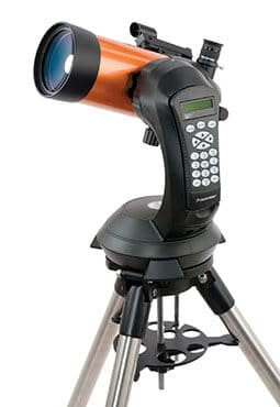 Celestron NexStar 4SE optics